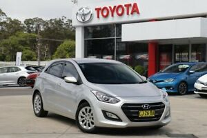 2016 Hyundai i30 GD4 Series 2 Active Silver 6 Speed Automatic Hatchback Wyoming Gosford Area Preview