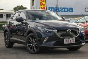 2015 Mazda CX-3 DK4W7A sTouring SKYACTIV-Drive i-ACTIV AWD Blue 6 Speed Sports Automatic Wagon Springwood Logan Area Preview