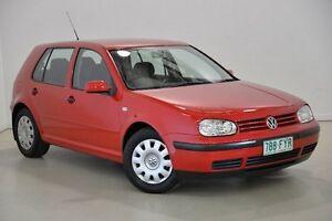 2000 Volkswagen Golf 4TH GEN GLE Red 5 Speed Manual Hatchback Mansfield Brisbane South East Preview