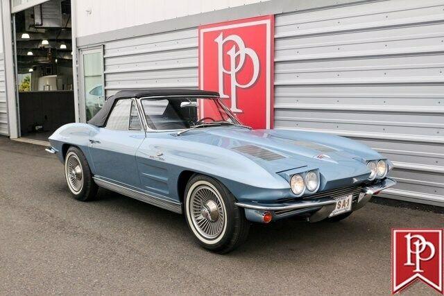 1963 Blue Chevrolet Corvette Convertible  | C2 Corvette Photo 7