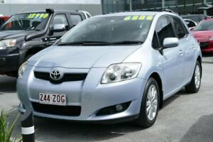 2007 Toyota Corolla ZRE152R Conquest Blue 6 Speed Manual Hatchback Capalaba Brisbane South East Preview