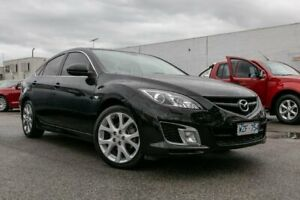 2009 Mazda 6 GH1051 MY09 Luxury Sports Black 5 Speed Sports Automatic Hatchback Dandenong Greater Dandenong Preview