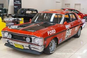 1969 Ford Falcon XW GT Red 4 Speed Manual Sedan Carss Park Kogarah Area Preview