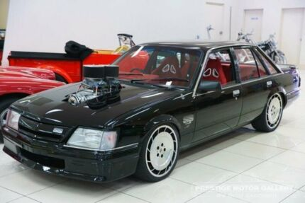 1984 Holden Commodore VK SL Black 3 Speed Automatic Sedan
