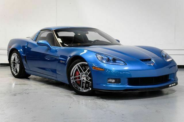 2008 Blue Chevrolet Corvette Z06  | C6 Corvette Photo 4