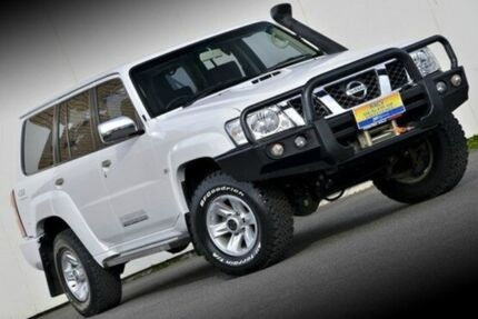 2014 Nissan Patrol Y61 GU 9 ST White 5 Speed Manual Wagon Ferntree Gully Knox Area Preview