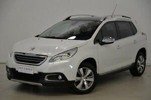 2013 Peugeot 2008 A94 Allure White 4 Speed Sports Automatic Wagon Mansfield Brisbane South East Preview