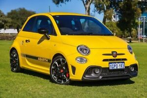 2017 Abarth 595 Series 4 Competizione Yellow 5 Speed Manual Hatchback Burswood Victoria Park Area Preview