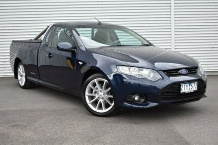 2013 Ford Falcon FG MkII XR6 Ute Super Cab EcoLPi Blue 6 Speed Sports Automatic Utility Epping Whittlesea Area Preview