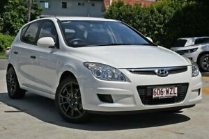 2009 Hyundai i30 FD MY09 SX White 4 Speed Automatic Hatchback Kedron Brisbane North East Preview
