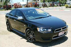 2013 Mitsubishi Lancer CJ MY13 LX Black 5 Speed Manual Sedan Townsville Townsville City Preview