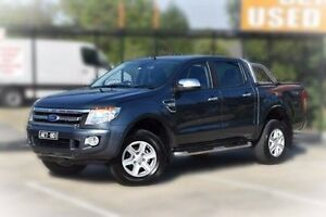 2015 Ford Ranger PX XLT Double Cab Grey 6 Speed Manual Utility Berwick Casey Area Preview