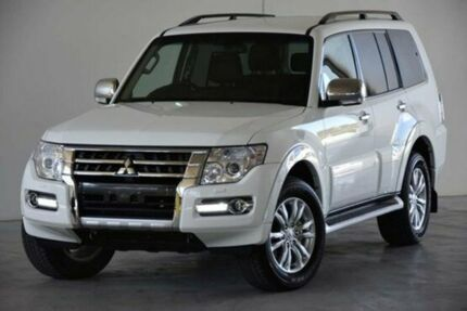 2015 Mitsubishi Pajero NX MY15 GLX White 5 Speed Auto Seq Sportshift Wagon Robina Gold Coast South Preview