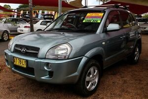 2007 Hyundai Tucson MY07 City SX Silver 4 Speed Sports Automatic Wagon Colyton Penrith Area Preview