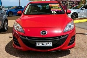 2009 Mazda 3 BL10F1 Maxx Activematic Red 5 Speed Sports Automatic Hatchback Minchinbury Blacktown Area Preview