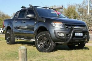 2014 Ford Ranger PX Wildtrak Double Cab Grey 6 Speed Manual Utility Rockingham Rockingham Area Preview