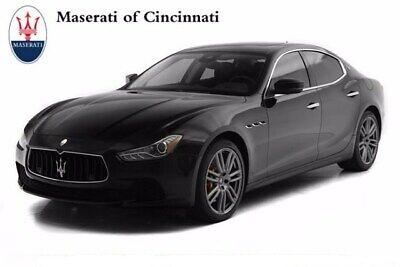 2017 Maserati Ghibli S Q4 2017 Maserati Ghibli S Q4 21564 Miles Nero 4dr Car Twin Turbo Premium Unleaded V