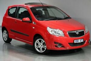 2009 Holden Barina TK (No Badge) Red Automatic South Morang Whittlesea Area Preview