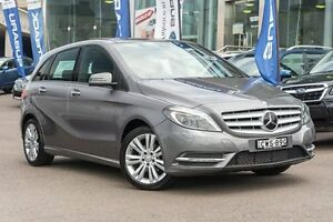 2014 Mercedes-Benz B180 W246 DCT Mountain Grey 7 Speed Sports Automatic Dual Clutch Hatchback Brookvale Manly Area Preview