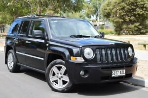 2008 Jeep Patriot MK MY2007 Limited Black 5 Speed Manual Wagon St Marys Mitcham Area Preview
