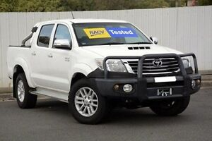 2011 Toyota Hilux  White Automatic Utility Lilydale Yarra Ranges Preview
