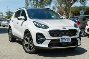 2019 Kia Sportage QL GT-Line White Sports Automatic Morley Bayswater Area Preview
