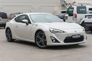 2013 Toyota 86 ZN6 GTS Pegasus White 6 Speed Manual Coupe Brookvale Manly Area Preview