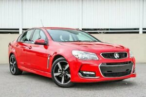 2017 Holden Commodore VF II MY17 SV6 Red 6 Speed Automatic Sedan
