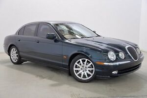 1999 Jaguar S-Type X200 Green 5 Speed Automatic Sedan Mansfield Brisbane South East Preview