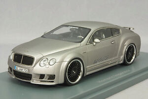 1 43 NEO Model HAMANN Imperator Bentley Continental Mugen GT 2011 Silver #.45700