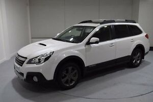 2014 Subaru Outback B5A MY14 2.0D Lineartronic AWD Premium White 7 Speed Constant Variable Wagon Invermay Launceston Area Preview