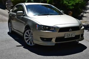 2009 Mitsubishi Lancer CJ MY09 VR-X Gold 6 Speed Constant Variable Sedan St Marys Mitcham Area Preview