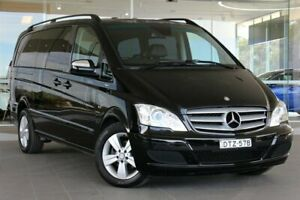 2011 Mercedes-Benz Viano 639 MY11 BlueEFFICIENCY Black 5 Speed Automatic Wagon Somersby Gosford Area Preview