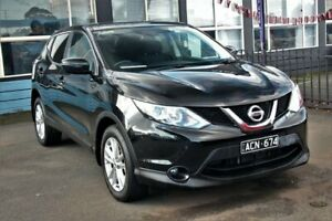 2014 Nissan Qashqai J11 TS Black 1 Speed Constant Variable Wagon Cheltenham Kingston Area Preview