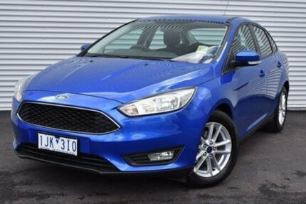 2016 Ford Focus LZ Trend Blue 6 Speed Automatic Sedan