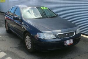 2004 Ford Fairmont BA Ghia Blue 4 Speed Automatic Sedan Portsmith Cairns City Preview