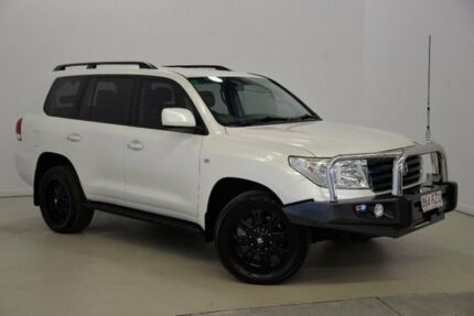 2011 Toyota Landcruiser VDJ200R MY10 Altitude White 6 Speed Sports Automatic Wagon