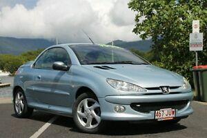 2003 Peugeot 206 T1 MY03 CC Blue 4 Speed Automatic Cabriolet Bungalow Cairns City Preview