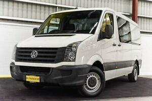 2013 Volkswagen Crafter 2ED1 MY13 35 MWB TDI400 White 6 Speed Manual Van Canning Vale Canning Area Preview