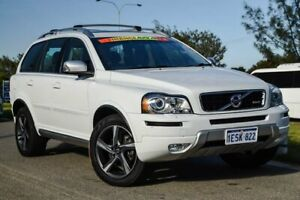 2014 Volvo XC90 P28 MY14 R-Design Geartronic Ice White 6 Speed Sports Automatic Wagon Clarkson Wanneroo Area Preview