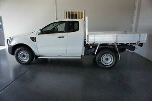 2012 Ford Ranger PX XL 3.2 (4x4) White 6 Speed Manual Super Cab Chassis