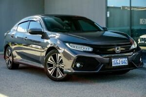 2017 Honda Civic 10th Gen MY17 VTi-LX Grey 1 Speed Constant Variable Hatchback Osborne Park Stirling Area Preview