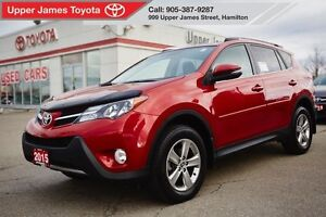 2015 Toyota RAV4 XLE AWD - Alloys and Power moonroof!