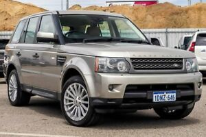 2011 Land Rover Range Rover Sport L320 11MY TDV6 Gold 6 Speed Sports Automatic Wagon