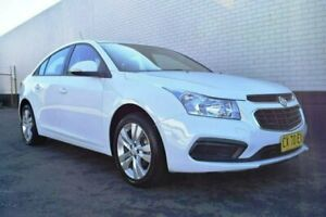 2015 Holden Cruze JH Series II MY15 Equipe White 6 Speed Sports Automatic Sedan Cardiff Lake Macquarie Area Preview