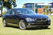 2018 BMW 318i F30 LCI Luxury Line Imperial Blue 8 Speed Sports Automatic Sedan Burswood Victoria Park Area Preview