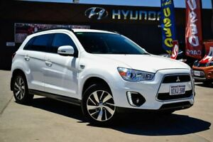 2015 Mitsubishi ASX XB MY15 LS 2WD White 6 Speed Constant Variable Wagon Midvale Mundaring Area Preview