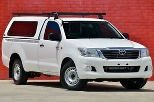 2012 Toyota Hilux GGN15R MY12 SR White 5 Speed Automatic Utility Pakenham Cardinia Area Preview