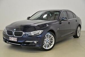 2012 BMW 328I F30 F30 Blue 8 Speed Sports Automatic Sedan Mansfield Brisbane South East Preview