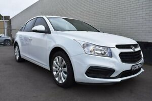 2016 Holden Cruze JH Series II MY16 Equipe White 6 Speed Sports Automatic Sedan Cardiff Lake Macquarie Area Preview